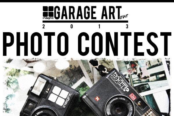 GARAGE ART TOUR PHOTO CONTEST!!!!!