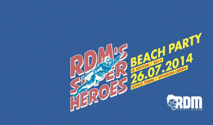 rdm 's super hero beach party