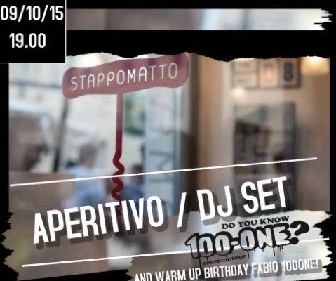 STAPPOMATTO APERITIVO & DJ SET