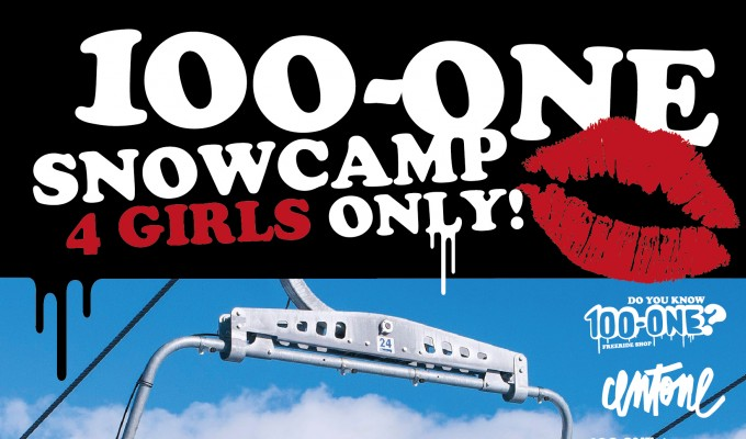 100-ONE SNOWCAMP 4 GIRLS ONLY