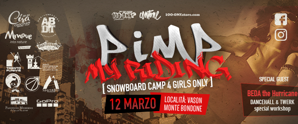 Pimp my riding: 100-One Snowboard camp 4 girls only